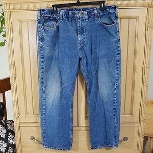 Carhartt Traditional Fit Jeans, sz 44x30